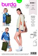 6400 Burda Pattern: Backpack